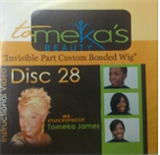 Invisible Part Custom Bonded Wig