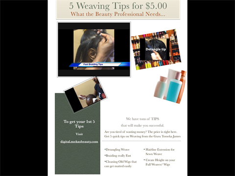 5 Weaving tips for $5.00 ( Part 1)