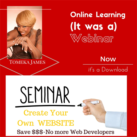 HOW TO BUILD YOUR OWN WEBSITE- WEBINAR 6