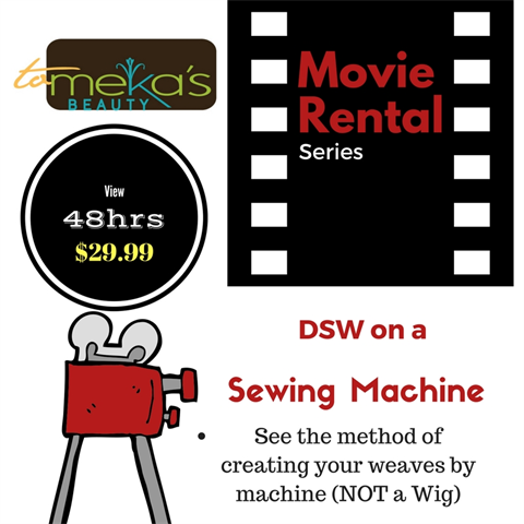 DSW on a Sewing Machine RENTAL