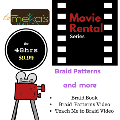 Braid Patterns and more RENTAL