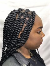 Knotless Senegalese Twist