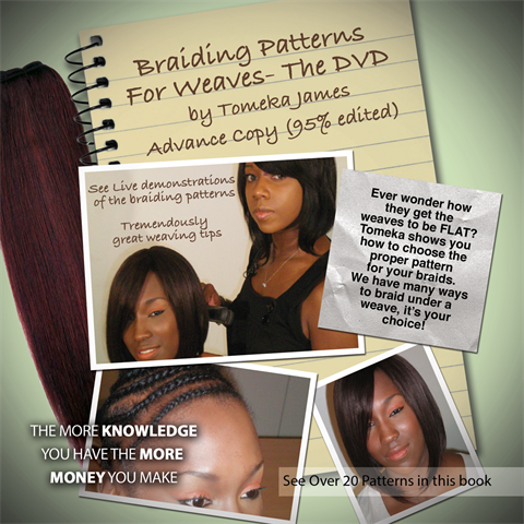 "Braiding Patterns for Weaves-""THE DVD"""